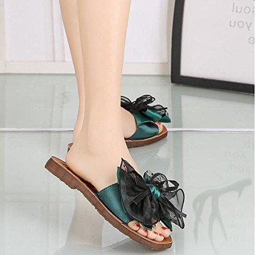 sandals Cool Cool sandals Green Pantofole Scivolose 66drqzw