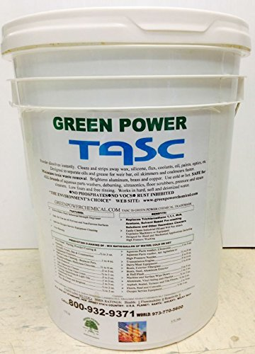 Green Power - TASC - The environments Choice Environment Friendly Green Powdered Cleaner/Degreaser, Free Rinsing Formula