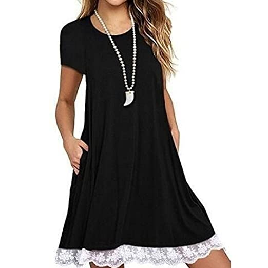 TcIFE Women Dress, Plus Size Dress, Summer Dress, Short ...