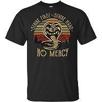 keoStore Cool Cobra Kai No Mercy Karate Kid First Strike Hard 80s Film Movie T-Shirt