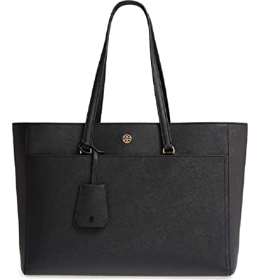 4136d472452 Amazon.com: Tory Burch Women's Robinson Tote Black One Size: Shoes