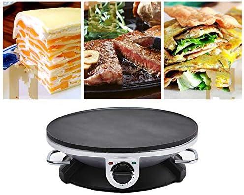 letaowl Poêles à Frire Crêpière Électrique Pancake Baing Pan Chinois Rouleau De Printemps Pie Grill Machine Barbecue Barbecue Four Barbecue