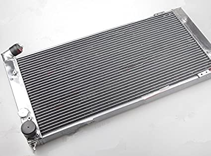 GOWE Turbo Aluminium Racing radiator Fit For VW Golf 2 Corrado VR6 Turbo Aluminium Racing radiator