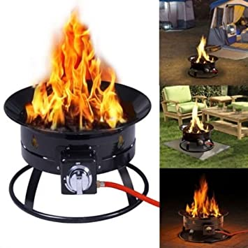 Hornillo de gas portátil al aire libre estufa de propano NO fumar N regulador Camping: Amazon.es: Jardín