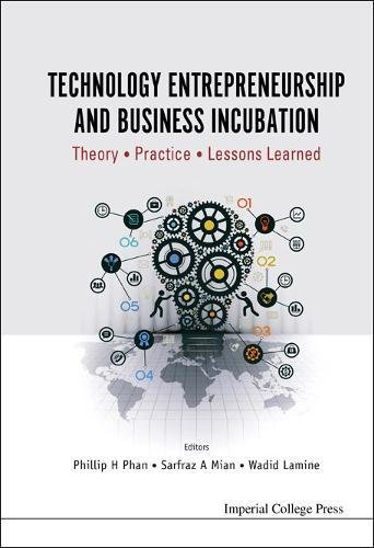 Technology Entrepreneurship and Business Incubation: Theory, Practice, Lessons Learned