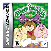 Cabbage Patch Kids: Patch Puppy Rescue - Game Boy Advance