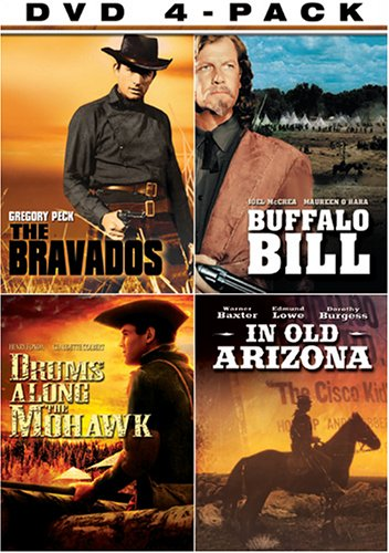 Western Four-Pack (The Bravados / Buffalo Bill / Drums Along the Mohawk / In Old ()