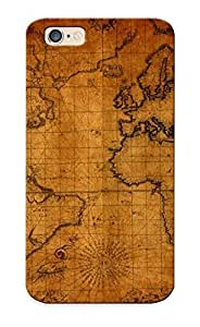 Christmas Day's Gift- New Arrival Cover Case With Nice Design For Iphone 6- Old World Map