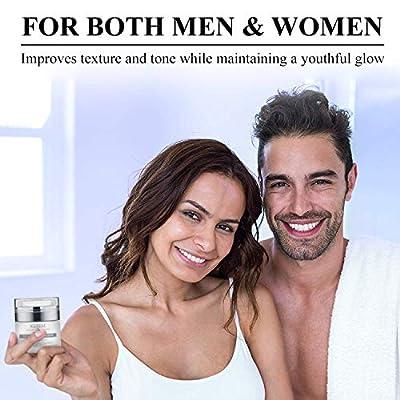 Pure Anti-Wrinkle Face & Neck Retinol Cream with Hyaluronic Acid – Premium Anti-Aging Face Moisturizer – Anti Aging…
