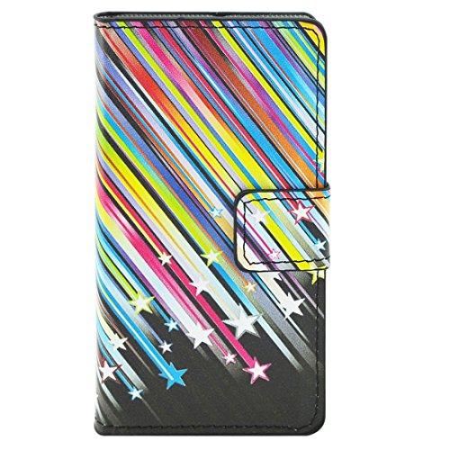 Beautiful & practical Patrón de flores horizontal Flip caja de cuero con titular y ranuras para tarjetas y cartera para Sony Xperia Z5 compacto / Z5 mini / E5803 / E5823 ( SKU : S-MLC-2931K ) S-MLC-2931G