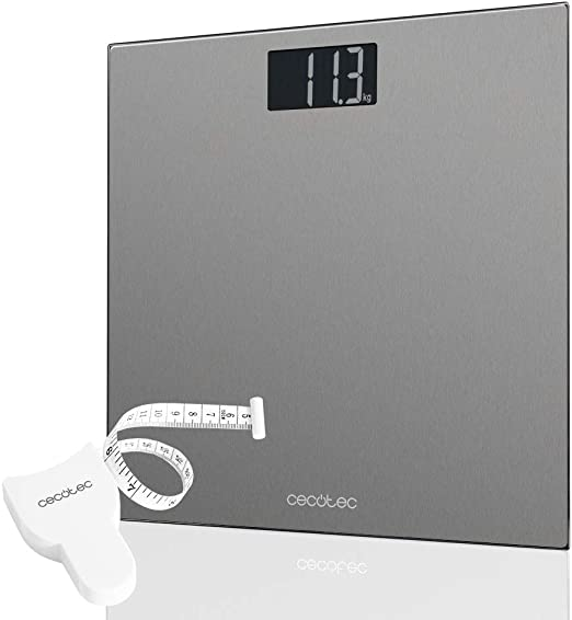 Cecotec Báscula de Baño Digital Surface Precision 9200 Healthy ...