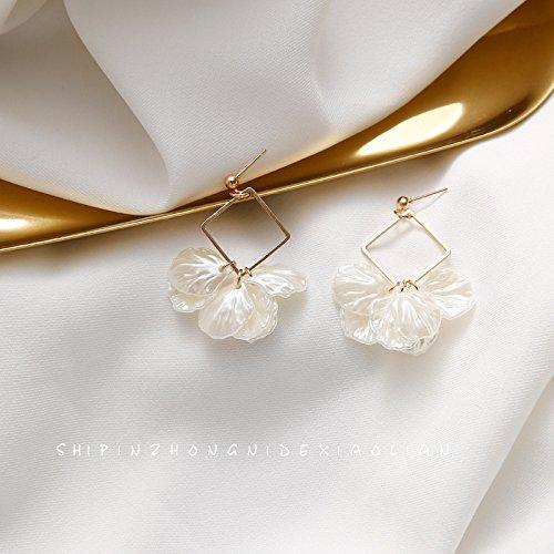 Cuff Jasmine (Girl jewelry earrings jasmine petals geometric earrings sweet personality women girls red mesh with money)