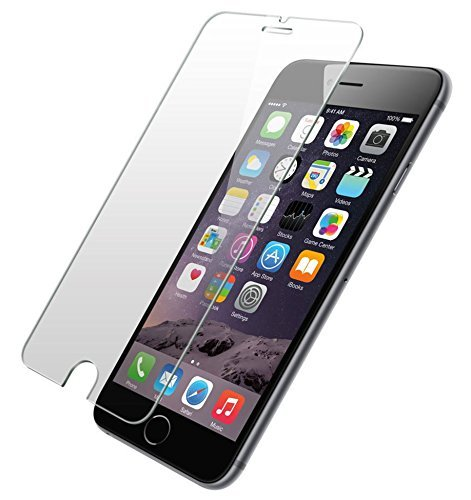 Ballistic Tempered Glass Screen Protector for Apple iPhone 7 Plus, iPhone 6s Plus, and iPhone 6 Plus - Retail Packaging - Clear