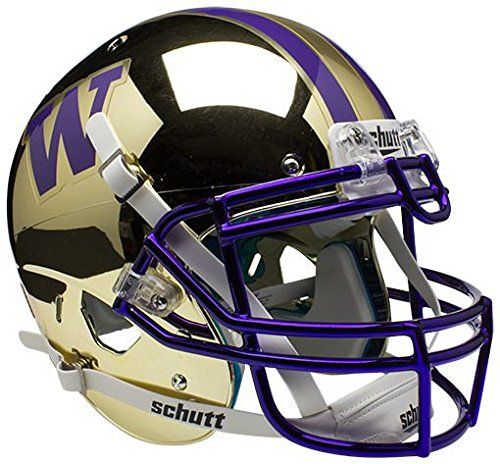 Washington Huskies Authentic College XP Football Helmet Schutt by Sports Collectibles
