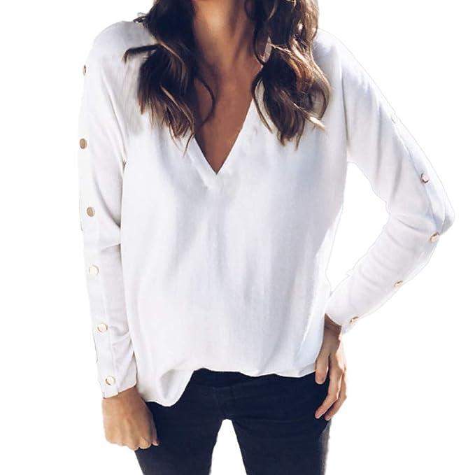 8a63f7d07 Mujer Suéter de Cuello Alto Jersey de Punto de Invierno Jerséis Casual para  Mujer Size S