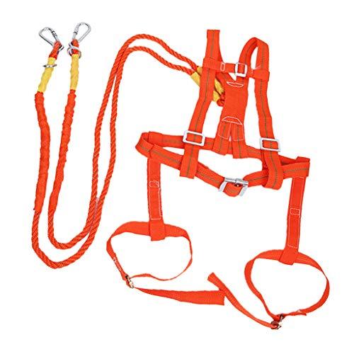 2メートル 保護 建設 安全ハーネス 個人 100kg 2種選ぶ フルハーネス 調節可能 安全作業 - スタイル2
