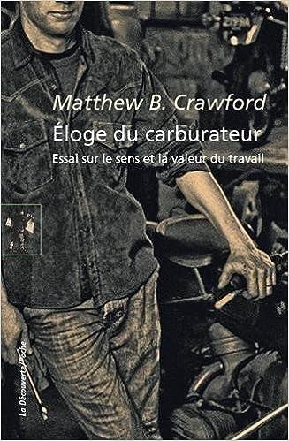 Livre Éloge du carburateur epub, pdf