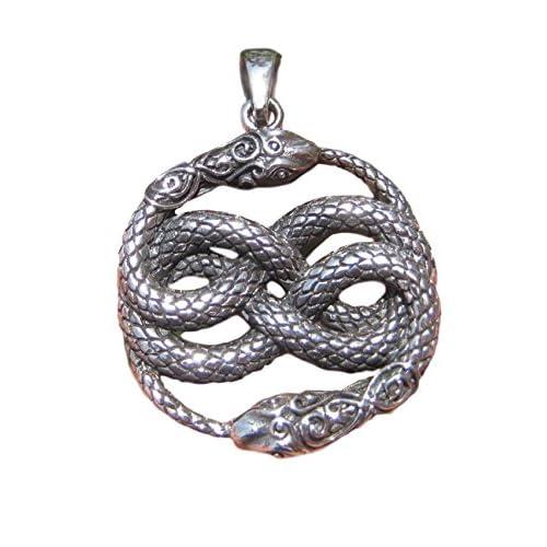 7957c802f95d 925 plata serpiente colgante collar Tailandia joyas Art A5 60% de descuento