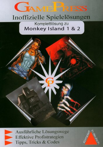 Monkey Island 1 & 2 (Lösungsheft)