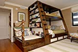 Bunk bed ART DECO - Caribbean model