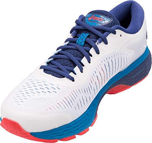 ASICS Gel-Kayano 25 Men's Running Shoe, White/Blue Print, 7 D(M) US by ASICS (Image #3)