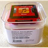 Apple iPod Nano 8GB RED (6th generation) - Special Edition MC693LL/A