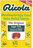 Ricola Herb Sugar Free with Stevia, 45g (Pack of 5)