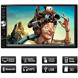 Discount Car stereo with bluetooth 7inch Touch Screen Car Stereo MP5 player FM Radio Car Audio support Rear View Camera Wireless Remote Control