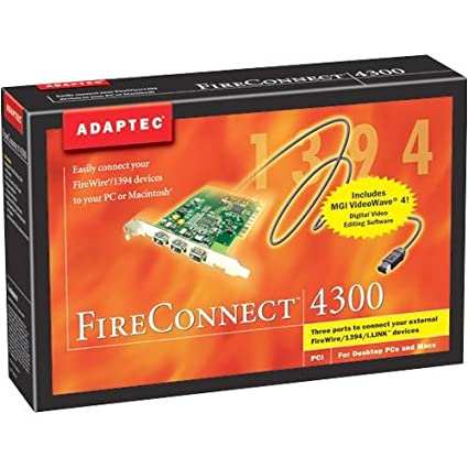 ADAPTEC PCI OHCI COMPLIANT IEEE 1394 DRIVERS (2019)