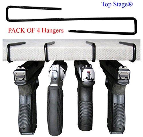 Top Stage Pistol Gun Hanger PACK of 4 Original Handgun Hangers, GNH4