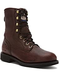 G008 Georgia Mens Carbo-Tec Lacer Work Boots - Oiled Brown