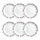 Corelle Livingware Lunch Plates (6 Pack), Nordic Blue