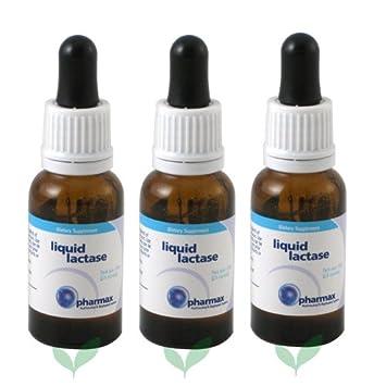 Amazon.com: Líquido Lactasa por pharmax (3 Pack): Health ...