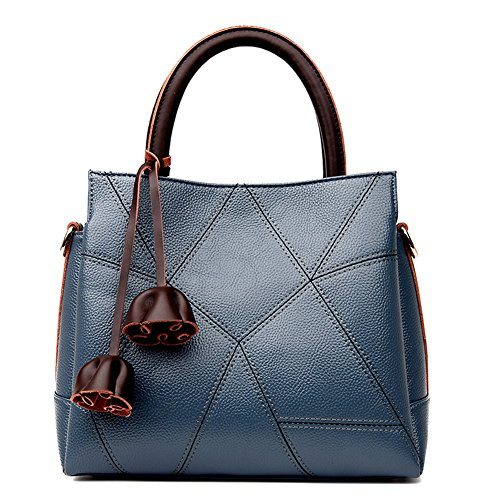 JUMENG Luxury Tote Bag for Women Leather Cross Body Top Handle ()