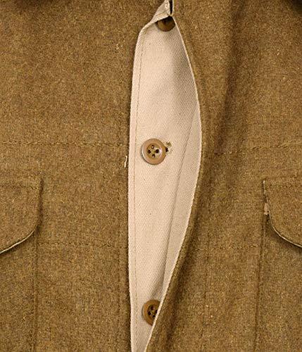 Grande Laine Combat Reproduction De Warreplica Robe Ww2 Tunique 37 Modèle Britannique En vfPIfwq