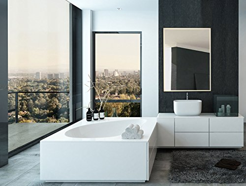 Modern Led Lighted Wall Mounted Vanity Mirror Round Shape: Top 10 Best LED Backlit Vanity Mirrors Reviews 2019-2020