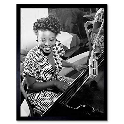 Gottleib Portrait Jazz Pianist Mary Lou Williams 1946 Photo Art Print Framed Poster Wall Decor 12x16 inch