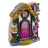 "Miniature Fairy Garden ""Briar Rose"" Solar Fairy Door For Sale"