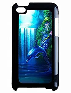 Vintage For Iphone 6 4.7 Inch Case Cover With Dolphin Swim In Lake