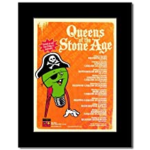 QUEENS OF THE STONE AGE - UK Tour 2007 Mini Poster - 28.5x21cm