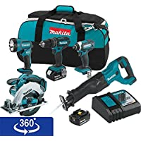 Makita Xt505 Lithium Ion Cordless Combo Features