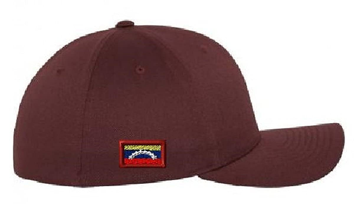New Venezuela Vinotinto Flag Customized Personalizada Baseball Cap Hat Gorra (L/XL) Maroon at Amazon Mens Clothing store: