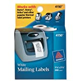 Avery Address Labels for Dymo, Seiko and Zebra Printers 4150, 1-1/8' x 3-1/2', Two Rolls of 130 (4150)