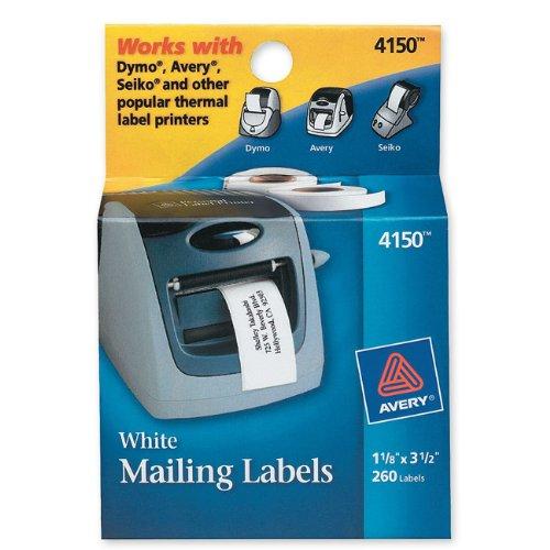 Avery Multi-Purpose Labels for Label Printers, 1.125 x 3.5 I