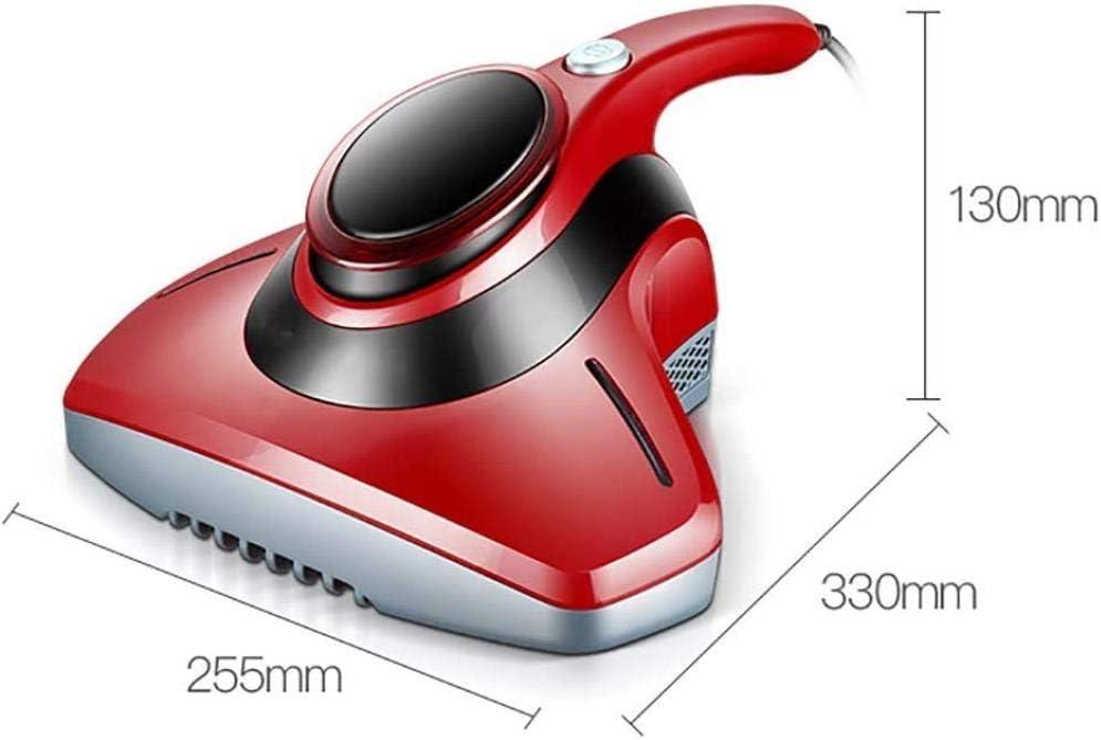 ASDASD UV aspirapolvere Anti-acaro Acari eliminando cimici e allergeni per materassi Cuscini divani in Tessuto e tappeti-Rosa (Colore: Rosa)-Rosso Rosso