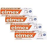 Elmex dentífricas Anti Caries 75ml - Lote de 4