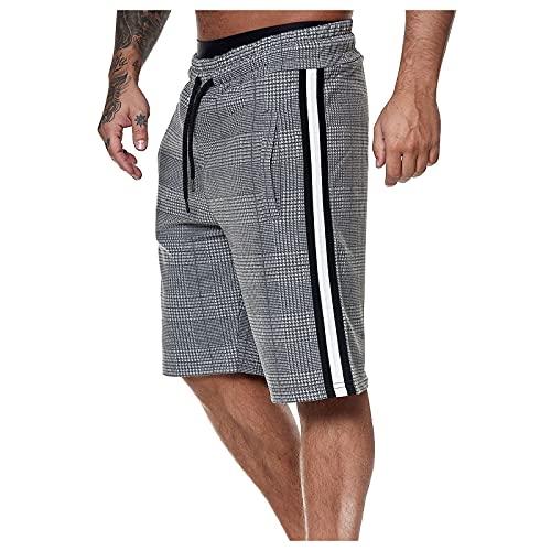 Heren bermuda shorts korte broek heren shorts cargo shorts korte jogger broek fitness broek vrijetijdsbroek…