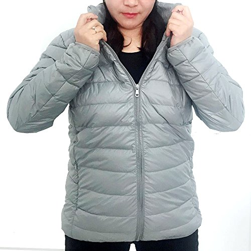 Packable Light Men's and Down Puffer Grey Jacket Women Yabliss nqtIOaxPE