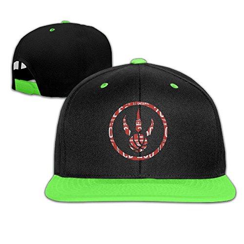sunny-fish6hh-unisex-adjustable-toronto-raptors-hiphop-baseball-caps-hat-for-kids-teenager-kellygree