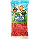 Perler Beads Red Bead Bag (6000 Count)